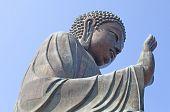 Buddha statue on Lantau island, Hong Kong