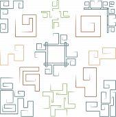 Notebook Doodles: Greek Scrolls, Corners, And Frames (1)
