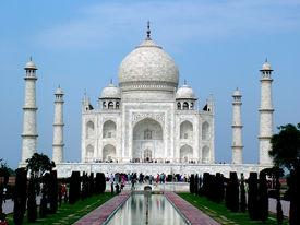 image of mumtaj  - The Taj Mahal was built at Agra - JPG
