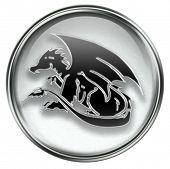 Zodiac Icon Grey