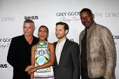 LOS ANGELES - OCT 29:  Ray Liotta, Kerry Washington, Tobey Maguire, Dennis Haysbert arrives at