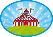 stock photo of school carnival  - carnival tent - JPG