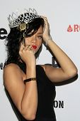 LOS ANGELES - OCT 31:  Rihanna at the Queen Of The West Hollywood Halloween Carnaval Crowning of Rih