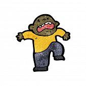boy having temper tantrum