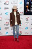LOS ANGELES - NOV 4:  Isaak Presley arrives at the AFI Film Festival 2012