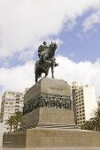 Equestrian Statue Of General Artigas In Montevideo, Uruguay