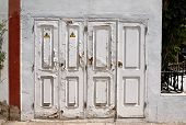 Old White Doors.