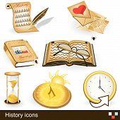 Geschichte Symbole