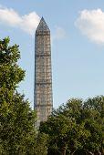Washington Monument Scaffolding