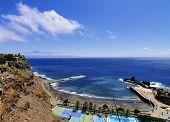 Beach Of San Sebastian On Gomera