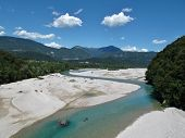Turqoise Blue River Tagliamento