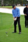 Greg Norman At 2009 Masters
