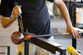 Glassblowing Detail