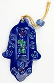 foto of hamsa  - Hamsa hand amulet used to ward off the evil eye  - JPG