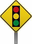 Traffic Signal Sign