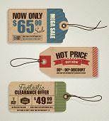 Etiquetas de precio