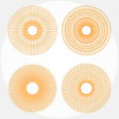 pic of mayhem  - Spirograph retro patterns on a white background - JPG