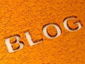 Blog. Achtergrond