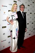 LOS ANGELES - JAN 11:  Cate Blanchett, Geoffrey Rush at the  2014 G'Day USA Los Angeles Black Tie Ga