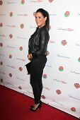LOS ANGELES - JAN 5:  Angelique Cabral at the BCS National Championship Party at Pasadena Convention