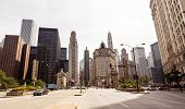 image of illinois  - View of Chicago city during sunny day - JPG