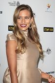 LOS ANGELES - JAN 11:  Renee Bargh at the  2014 G'Day USA Los Angeles Black Tie Gala at JW Marriott