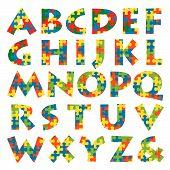 % Puzzle Alphabet