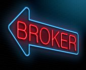 Broker Concept.