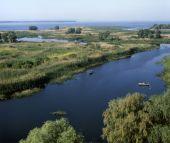 Mouth Of The Vorskla River