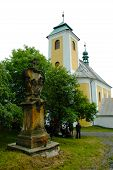Pilgrimage Church in Ruda,  Moravia