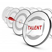 Talents Recruitment Concept