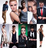 picture of tens  - ten different people collage - JPG