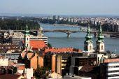 Landscape on Budapest