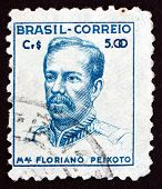 Postage Stamp Brazil 1947 Marshal Floriano Peixoto