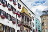 picture of emperor  - The Goldenes Dachl  - JPG