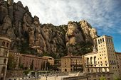 Santa Maria de Montserrat Abbey in Spain