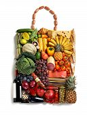 Gastronomy handbag