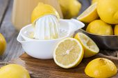 Homemade Lemon Juice