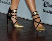 LOS ANGELES - JAN 17:  Camilla Luddington at the Disney-ABC Television Group 2014 Winter Press Tour Party Arrivals at The Langham Huntington on January 17, 2014 in Pasadena, CA