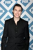 LOS ANGELES - Jan 13:  Sam Underwood at the  FOX TCA Winter 2014 Party at The Langham Huntington Hot