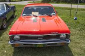 1971 Orange Chevy Nova Ss