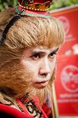 Unidentified People  Dress Up Like Monkey King
