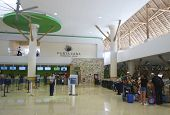 Terminal 2 in Punta Cana International Airport, Dominican Republic