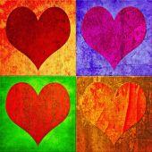Постер, плакат: Сердца
