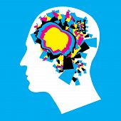 CMYK - Left and Right human brain