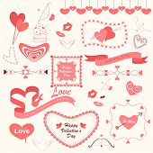 Valentines'd Day Designing Element