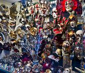 Carnival Masks And Attributes