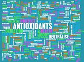 picture of oxidation  - Antioxidants Concept or Anti Oxidants or Antioxidant - JPG