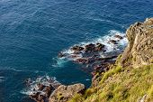 Cliffs In North Of Flores Island, Azores Archipelago (portugal)