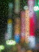 Lights Through An Umbrella